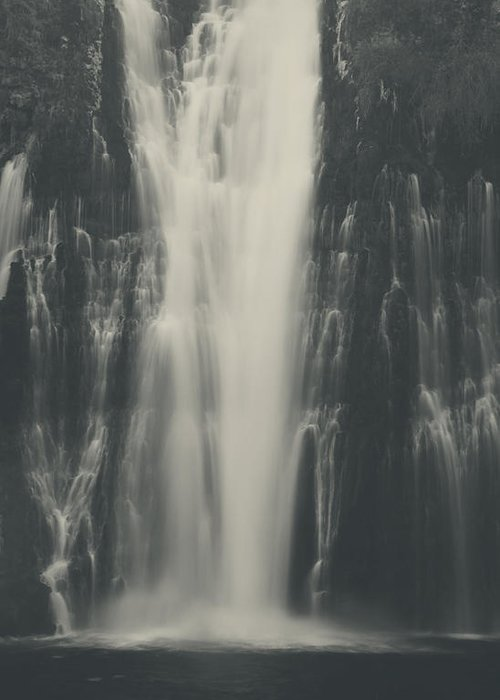 Burney Falls State Park Greeting Card featuring the photograph Smooth by Laurie Search