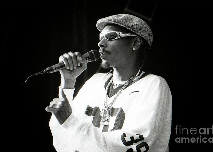 Snoop Greeting Card featuring the photograph Snoop-gp18 by Timothy Bischoff