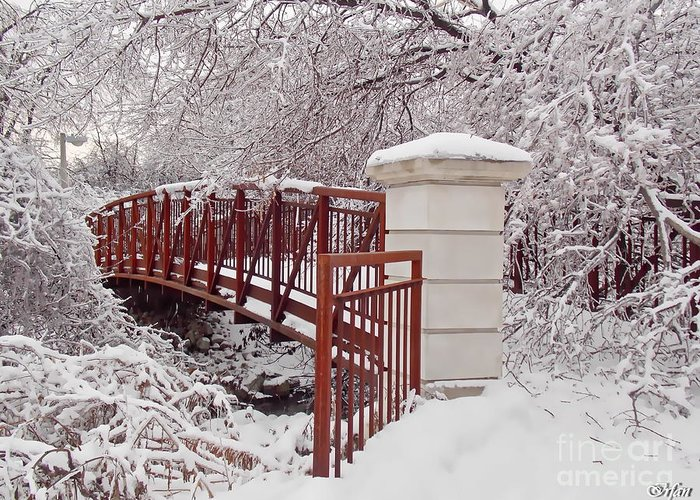 Irfancollection Greeting Card featuring the photograph Snow Way Or No Way by Irfan Gillani