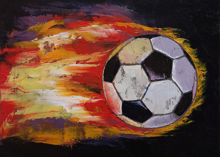Soccer Ball Greeting Cards