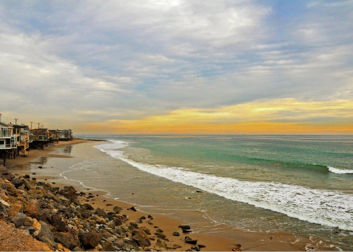 Pch Greeting Card featuring the photograph Soft Colors On The Coast by Lynn Bauer