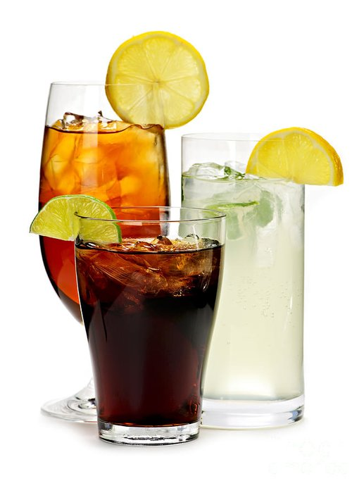 Soft Drinks Greeting Card featuring the photograph Soft Drinks by Elena Elisseeva