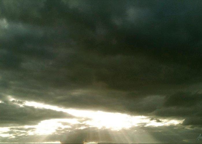 Sun Greeting Card featuring the photograph Solis Gratium by Amanda Holmes Tzafrir