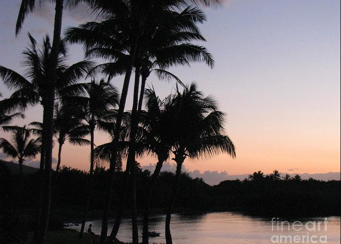 Sunrise Greeting Card featuring the photograph Solitude by Fred Sheridan