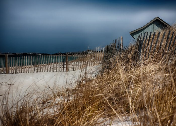 #jefffolger Greeting Card featuring the photograph Solitude On The Cape by Jeff Folger