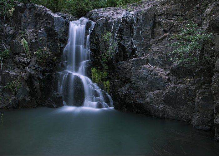 Water Greeting Card featuring the photograph Song Of Hiawatha by Aaron Bedell