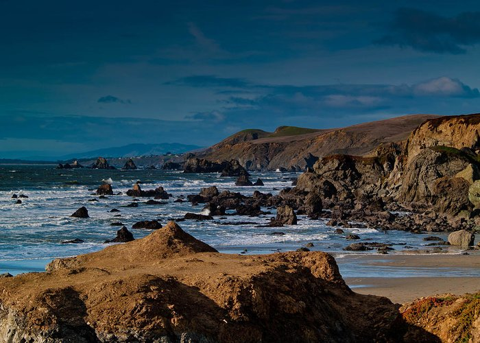 Sonoma Greeting Card featuring the photograph Sonoma Coast by Bill Gallagher