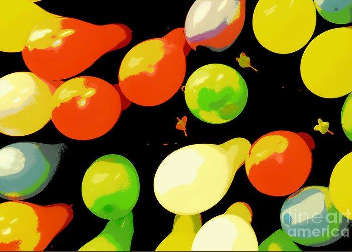 Balloon Greeting Card featuring the photograph Sorry Not A Winner by Joe Jake Pratt