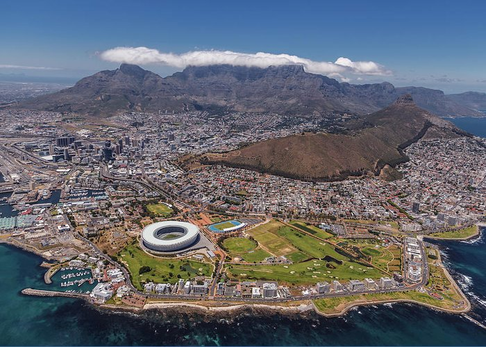 Cape Town Photographs Greeting Cards