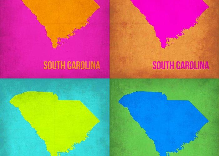 Designs Similar to South Carolina Pop Art Map 1