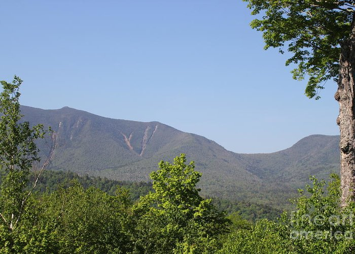 New Hampshire Greeting Card featuring the photograph South Hancock Mountain New Hampshire by Spirit Baker