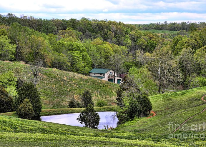 Tennessee Greeting Card featuring the photograph Southern Landscapes IIi by Chuck Kuhn