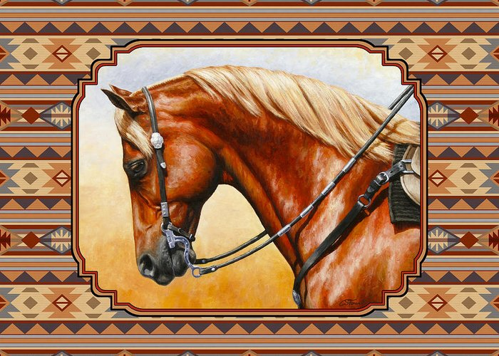 Sorrel Horse Greeting Cards