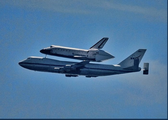 Space Shuttle Endeavor Greeting Cards