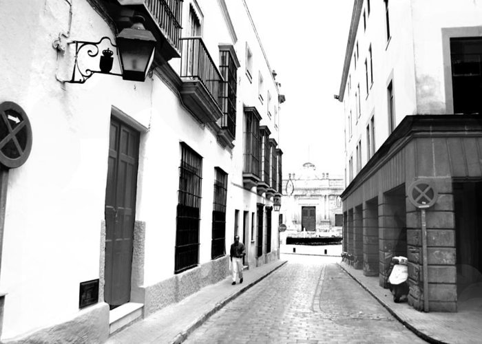 Jerez Greeting Card featuring the photograph Spanish Street 2 by Joshua Tennant