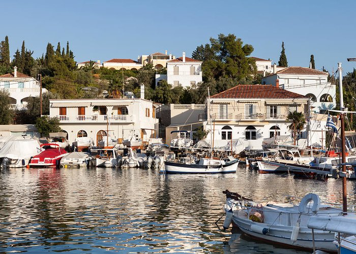 Spetses Greeting Cards