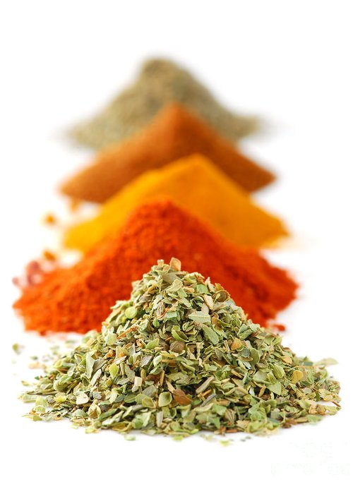 Spice Greeting Card featuring the photograph Spices by Elena Elisseeva