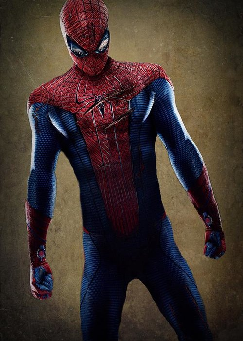 Spider-man Greeting Card featuring the digital art Spider-man 2.1 by Movie Poster Prints