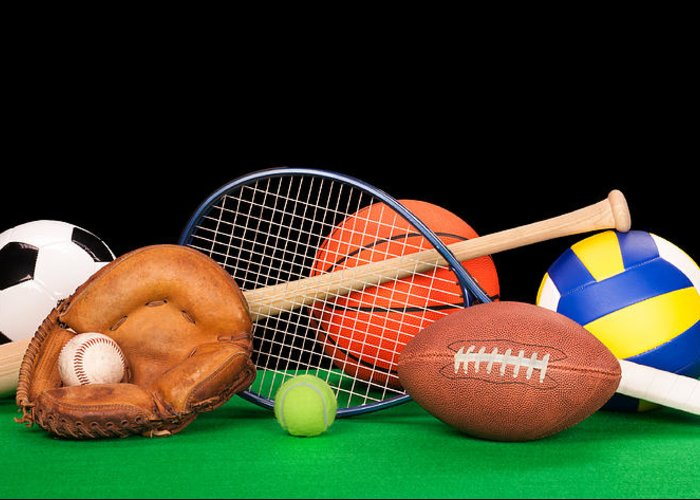 Sports Greeting Card featuring the photograph Sports Equipment by Joe Belanger