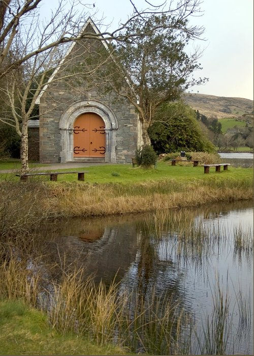Saint Finbarr's Oratory Greeting Card featuring the photograph St. Finbarr's Oratory by Thomas Glover