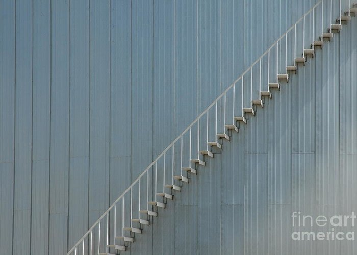 Abstract Greeting Card featuring the photograph Stairway To Heaven by Crystal Nederman