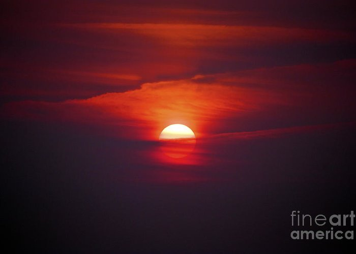 Sun Greeting Card featuring the photograph Stairway To Heaven by Terri Waters