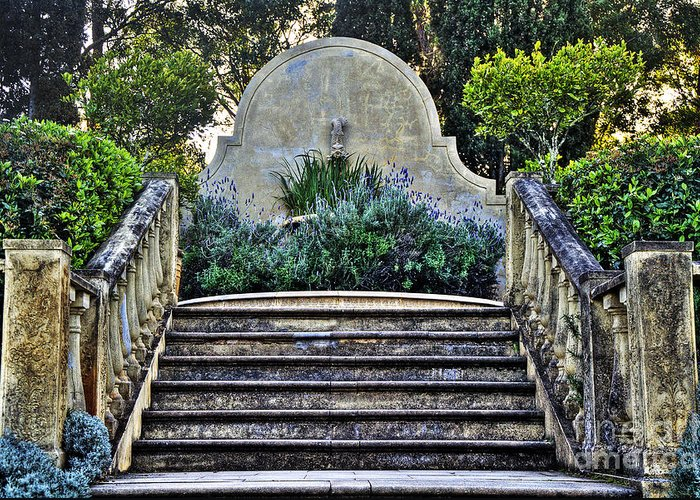 Photography Greeting Card featuring the photograph Stairway To Nowhere by Kaye Menner