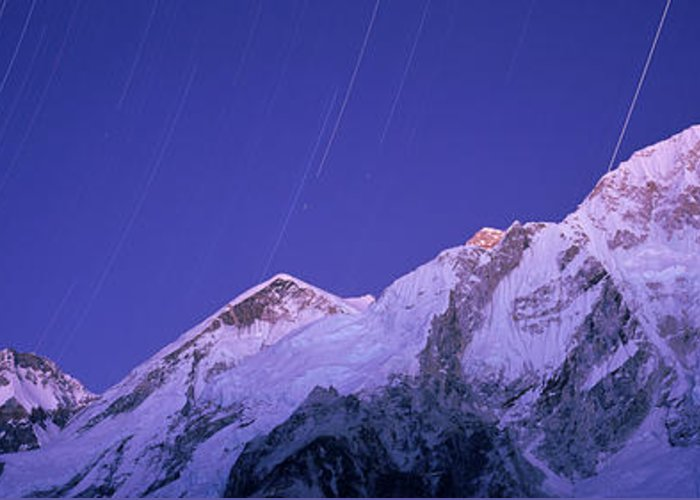 Mt Everest Base Camp Greeting Cards