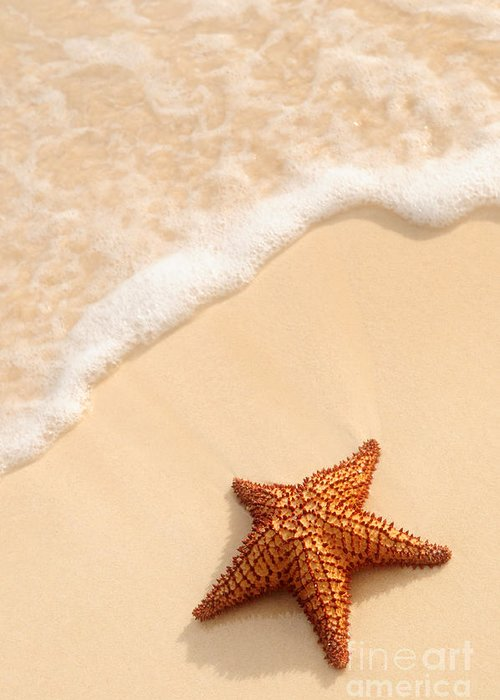 Wet Sand Greeting Cards