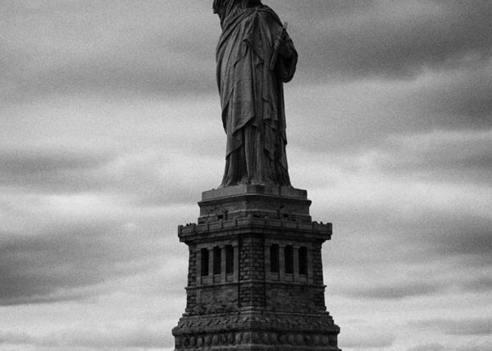 Usa Greeting Card featuring the photograph Statue Of Liberty New York City by Joe Fox