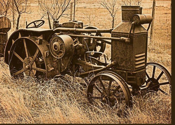 Steam Tractor Greeting Cards