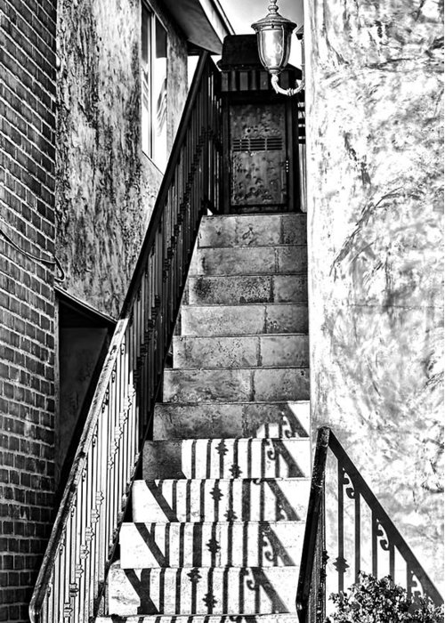 Step Greeting Card featuring the photograph Steps by Camille Lopez