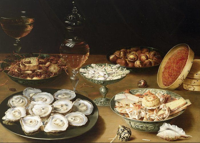 Still-life With Quinces Greeting Cards