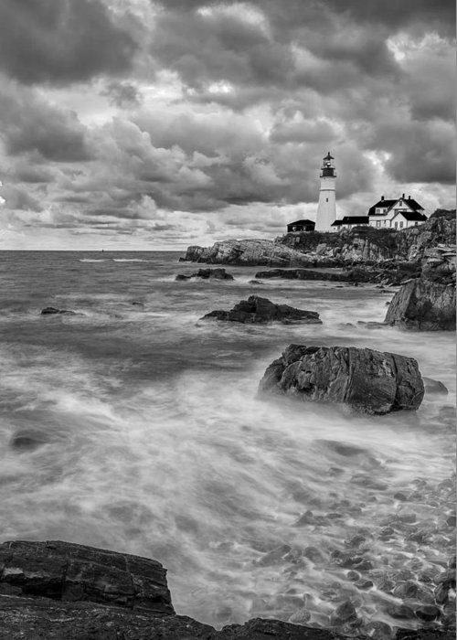Sky Greeting Card featuring the photograph Storm Coming by Jon Glaser