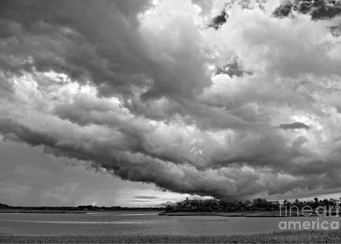 Clouds Greeting Card featuring the photograph Storm by Todor Tsvetkov