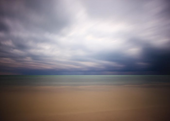 3scape Photos Greeting Card featuring the photograph Stormy Calm by Adam Romanowicz