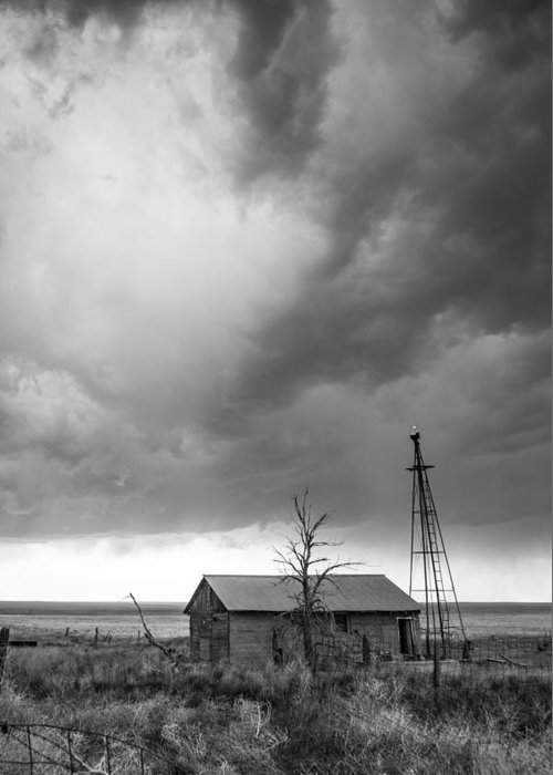 Storm Greeting Card featuring the photograph Stormy Past by Greg Moore