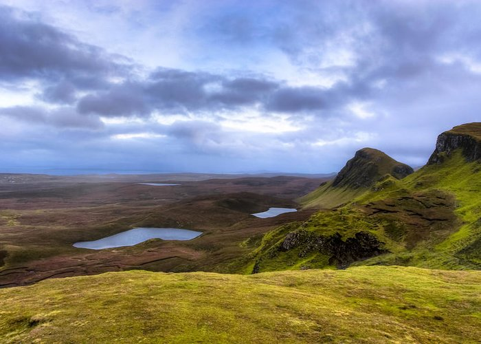 Isle Of Skye Greeting Card featuring the photograph Storybook Beauty Of The Isle Of Skye by Mark E Tisdale