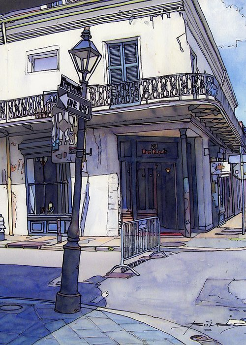 Shopfrench Quarter Drawings Greeting Cards