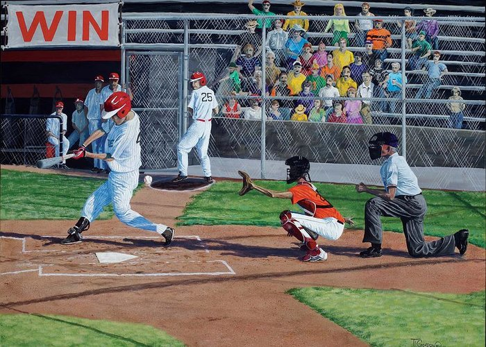 New Ball Park Greeting Cards