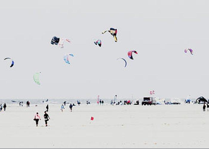 Kite Surfing Greeting Cards
