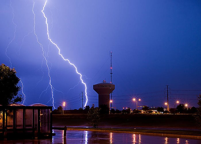 Amazing Greeting Card featuring the photograph Summer Storm by Jim Finch