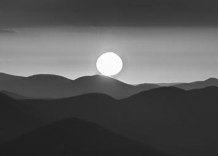 Appalachia Greeting Card featuring the photograph Sun Kissed by Debra and Dave Vanderlaan