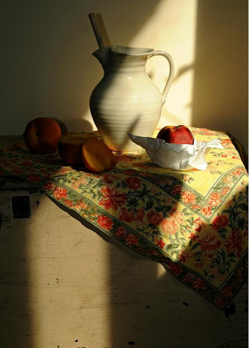 Still Life Greeting Card featuring the photograph Sun Shade by Diana Angstadt