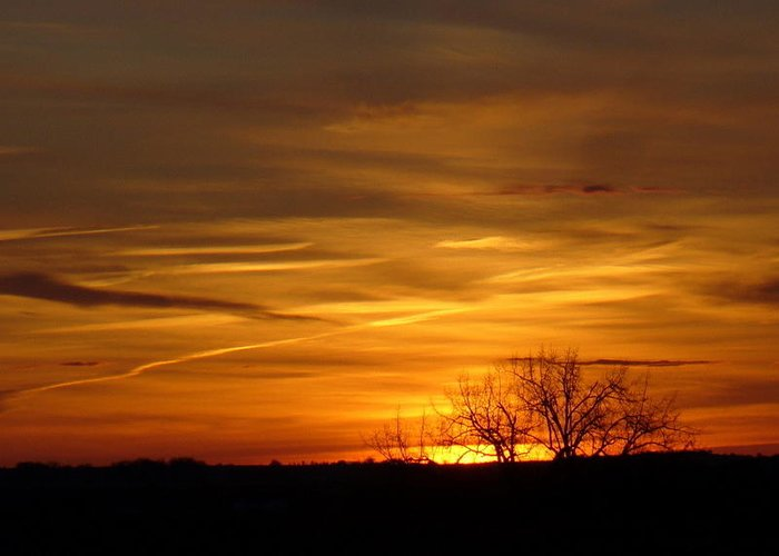 Sunrise Greeting Card featuring the photograph Sunrise 11 by Mark Wagner