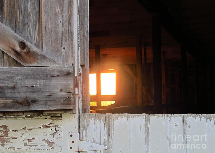 Sunrise Greeting Card featuring the photograph Sunrise 365 1 by Tina M Wenger