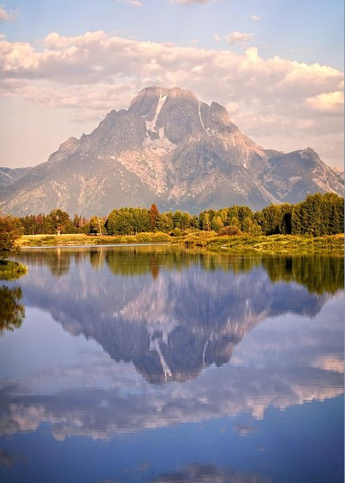 Grand Teton National Park Greeting Card featuring the photograph Sunrise At Oxbow Bend 2 by Marty Koch