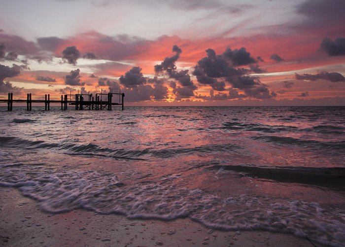3scape Photos Greeting Card featuring the photograph Sunrise Panoramic by Adam Romanowicz