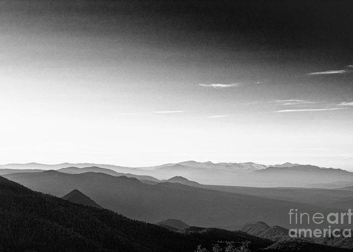 Greeting Card featuring the photograph Sunrise White Mtns II by Arne Hansen