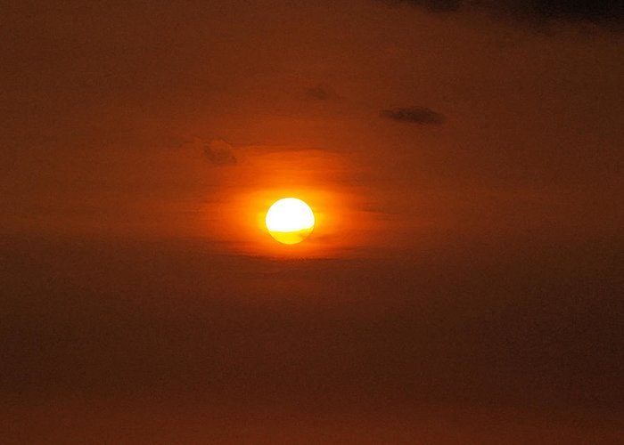 Sunset Photographs Greeting Card featuring the photograph Sunset by Athala Carole Bruckner